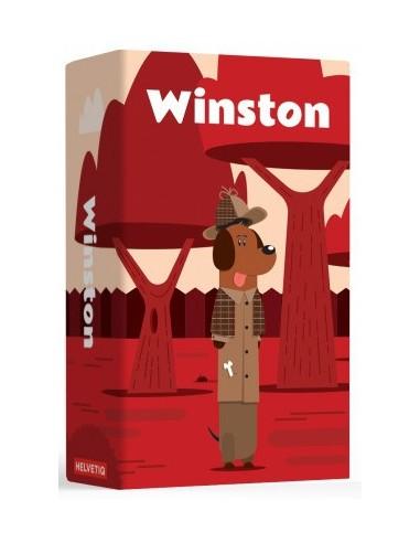 "WINSTON ""jeu de cartes""  HELVETIQ"