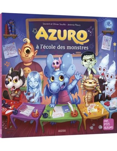 Azuro à l'école des monstres de J....